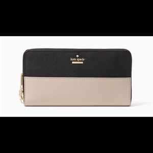 NWT Authentic Kate Spade Leather Wallet